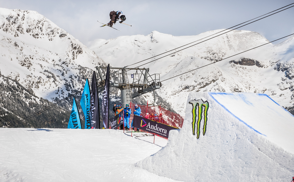 Alex Hall takes victory at Grandvalira Total Fight freeski