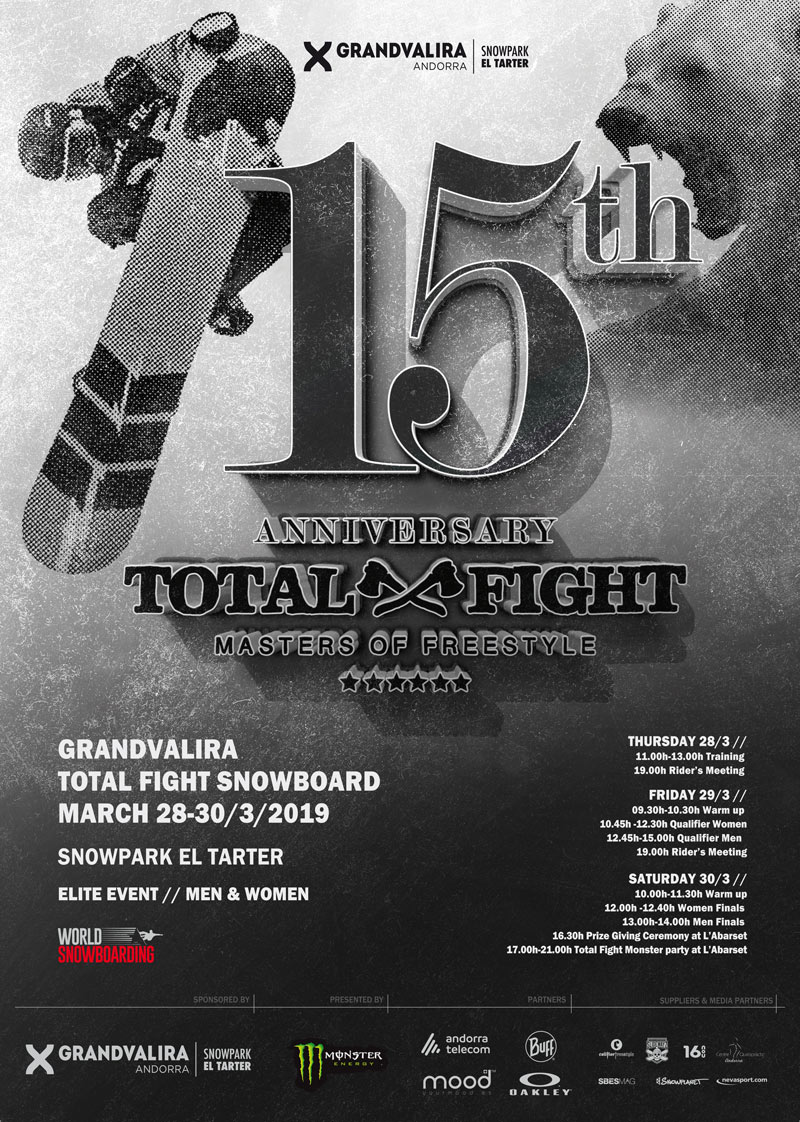 Grandvalira Total Fight 2019 Snowboard
